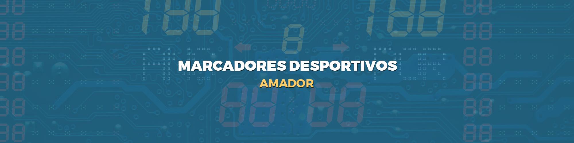 marcadores desportivos - Amador