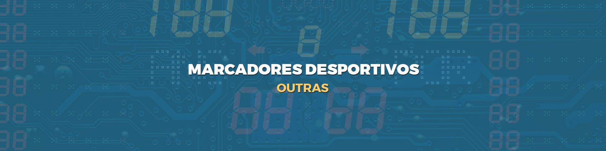 marcadores desportivos - OUTRAS