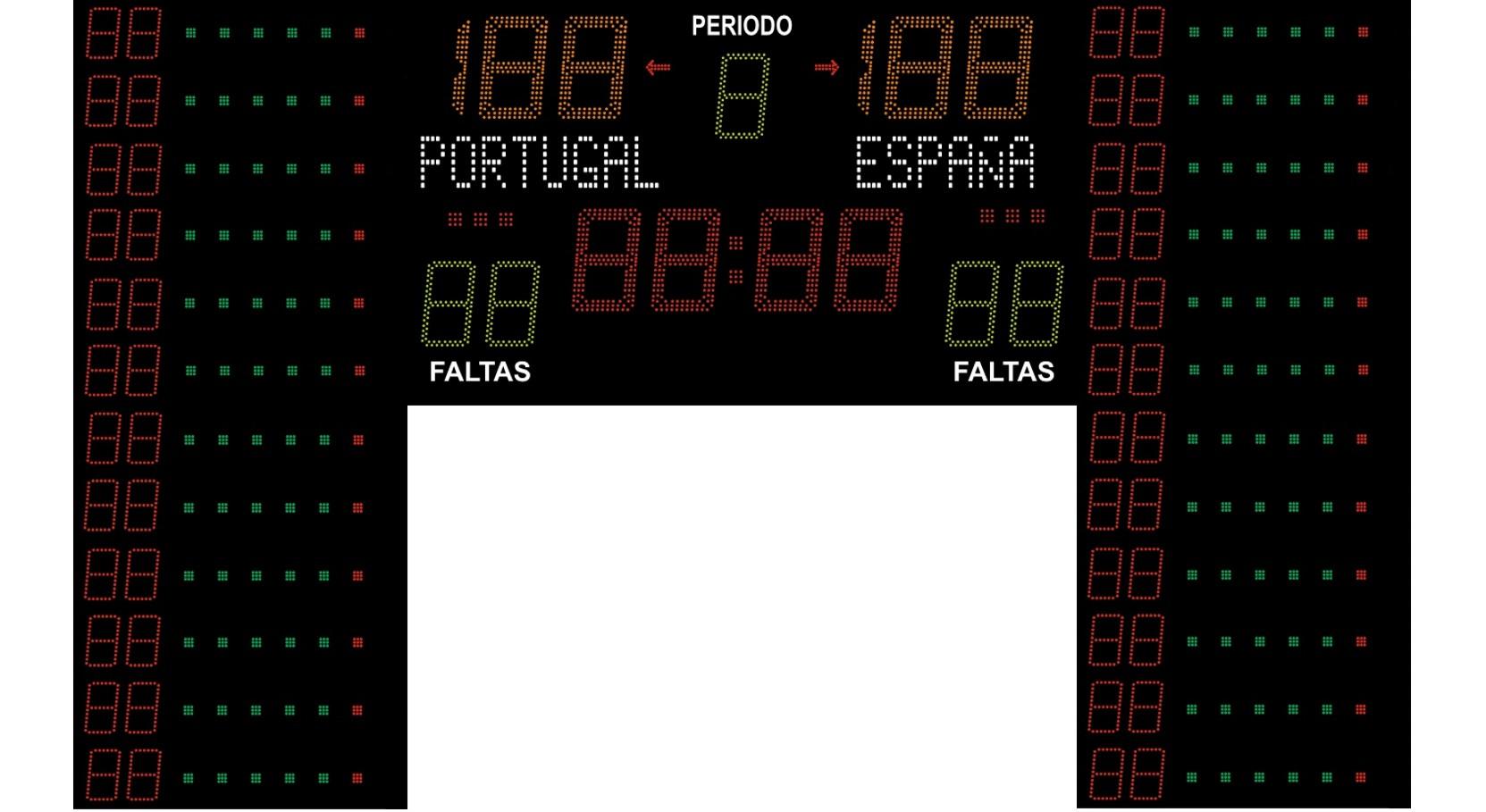 Basket FIBA Dorsais