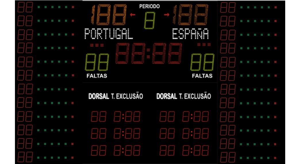 Olimpico FIBA com Dorsais
